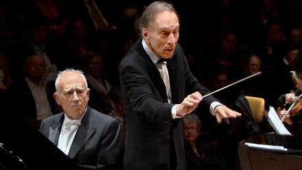 Claudio Abbado et Maurizio Pollini (© Digital Concert Hall, Berliner Philharmoniker)